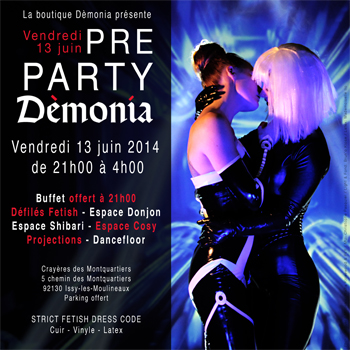 PRE PARTY DEMONIA 2014